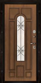 Дверь  Арт c окном Iron Glass 2