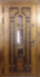входная дверь с терморазрывом и окном