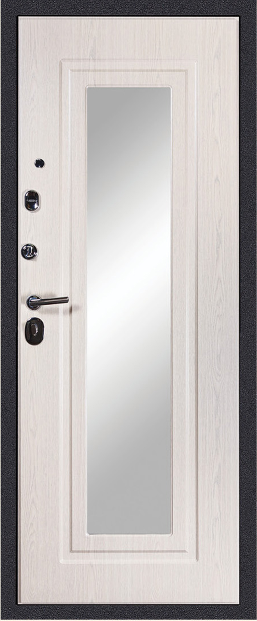 Дива МД26 зеркало беленый дуб
