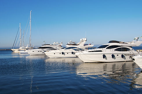White yachts in the port.jpg