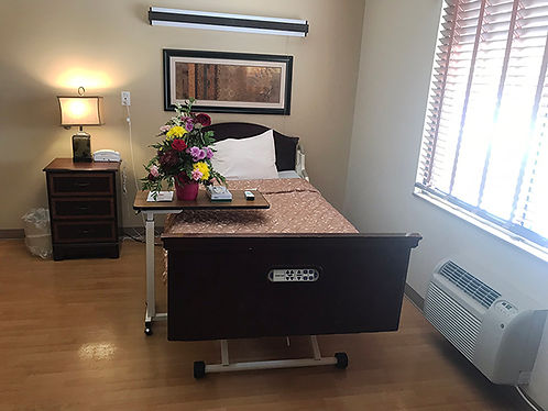 Our Long Term Care Rooms are Comfortable and Brightly Lit