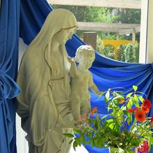 Vierge prière mariale