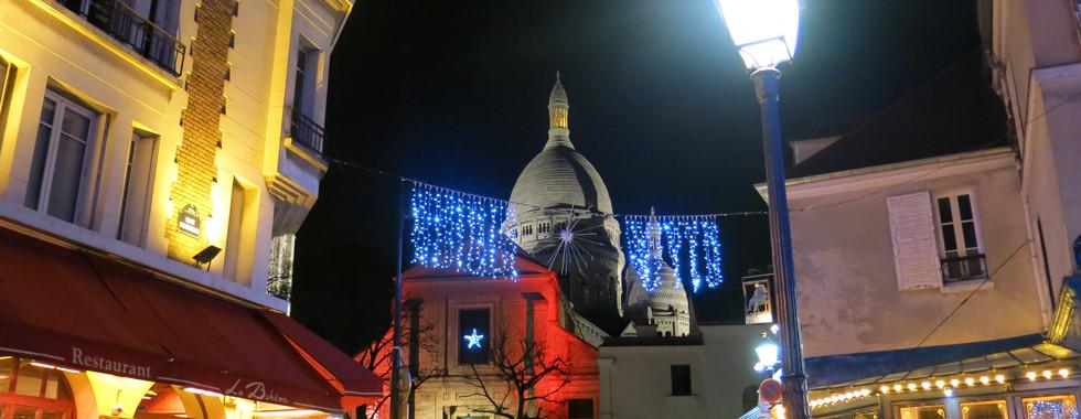 Nuit à Montmartre