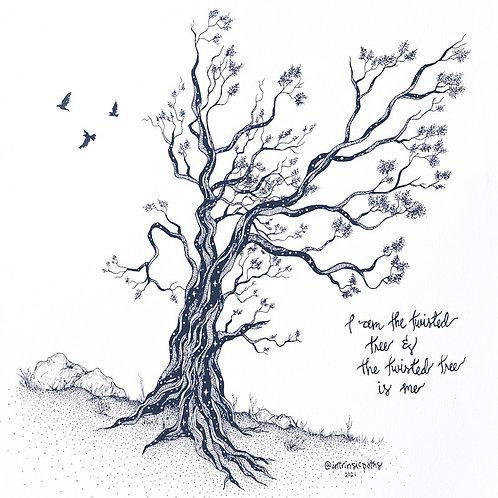 I am the twisted tree