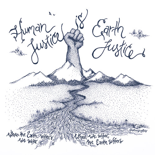 human justice, earth justice