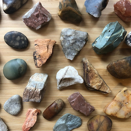 {Choose For Me} Earth Stones