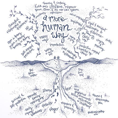 a more human way