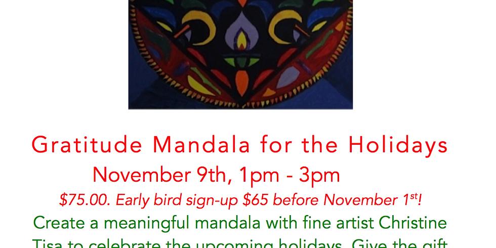 Gratitude Mandala for the Holidays!