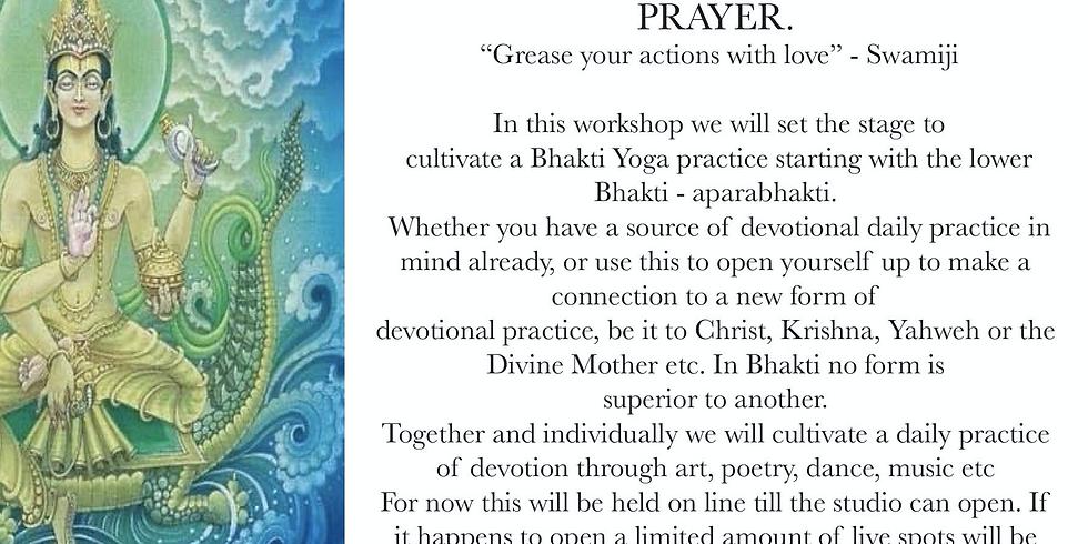 APARABHAKTI and the Devotion to the Divine through Art and Prayer