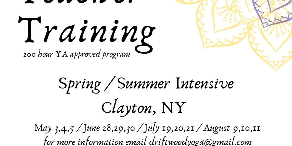 200hr. Teacher Trainning Summer Intensive with Driftwood Yoga