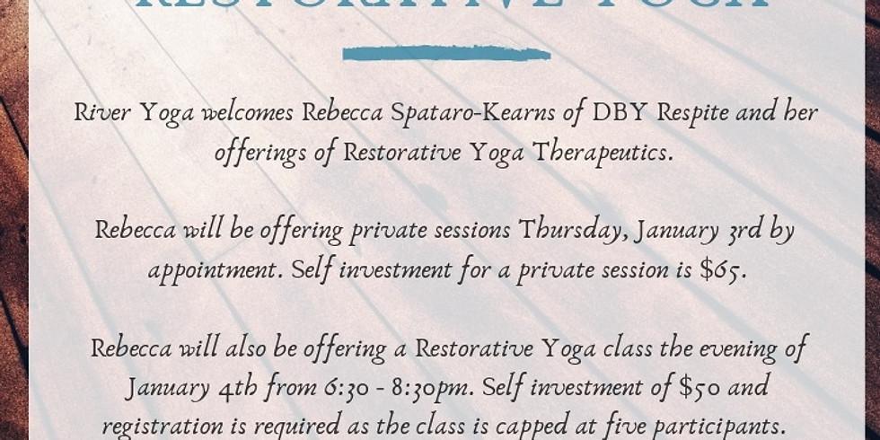 Rest & Rejuvenate Restorative Yoga