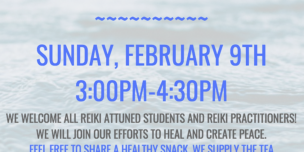 Reiki Share for Practitioners and Reiki Attuned Level 1+