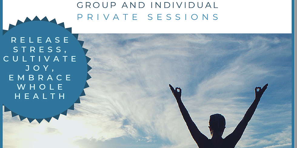 Set up a Private Session! Primordial Sound Meditation (Group and Private offerings!)