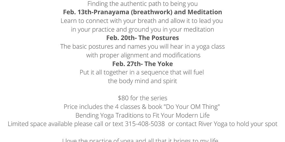 Yoga For Beginners February Series with Kara!