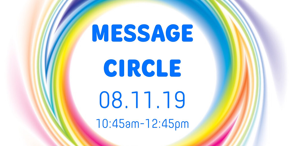 Message Circle with Rochette Withers!