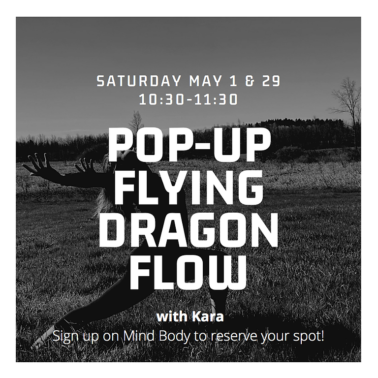 In-Studio: Pop-Up Flying Dragon Flow with Kara!