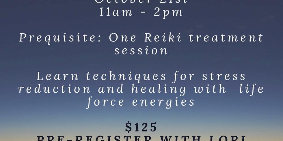 Reiki I Attunement with Reiki Master Lori Arnot