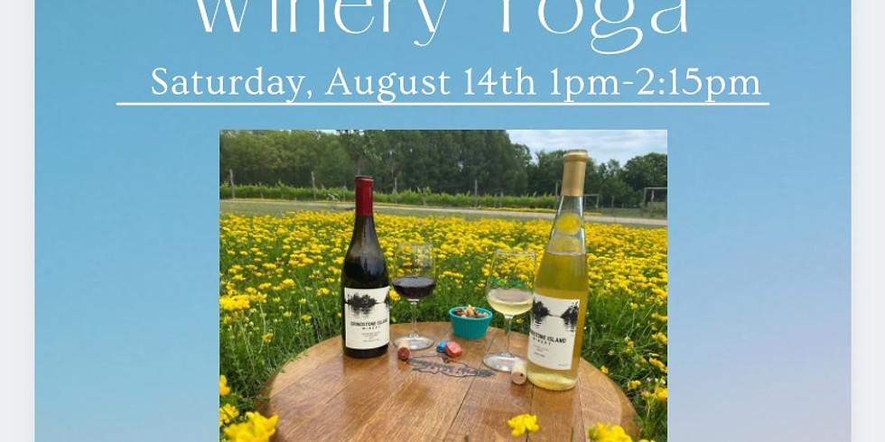 $35.00 Grindstone Island Winery Slow Flow & Slushy with Laney!