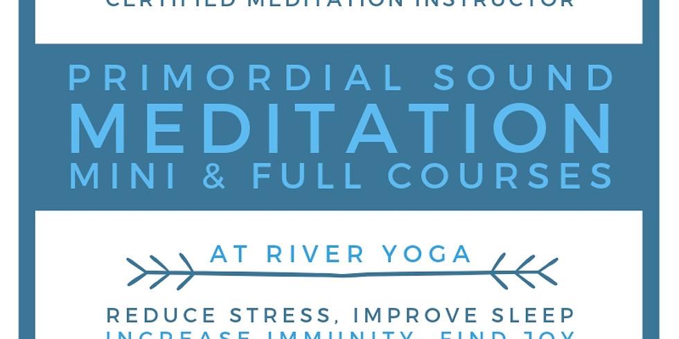 Primordial Sound Meditation Mini and Full Courses!