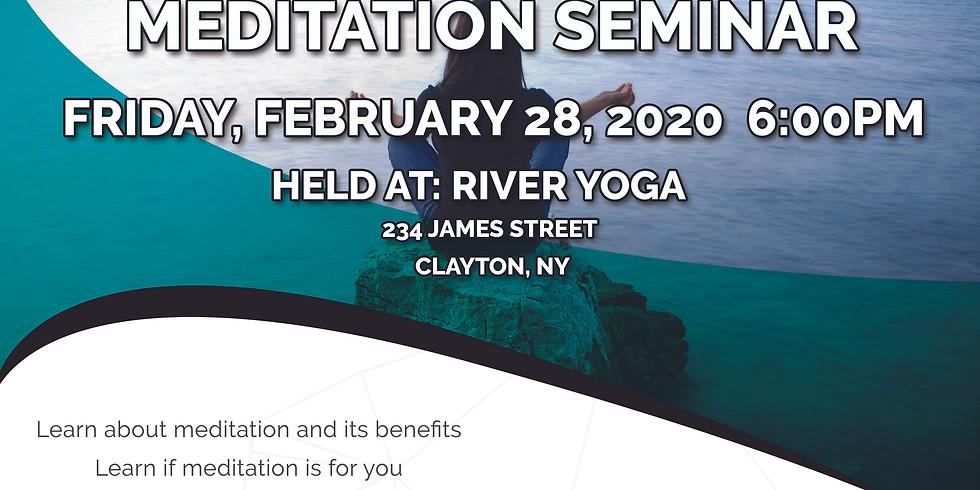 FREE Informational Meditation Seminar with Phil@islandmenditations.com