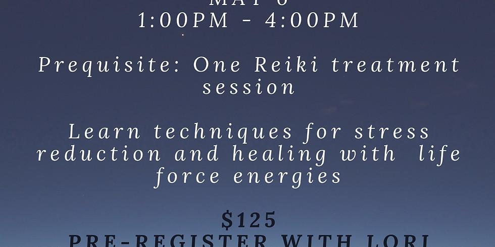 Reiki I Attunement with Lori Arnot, LMT, Reiki Master
