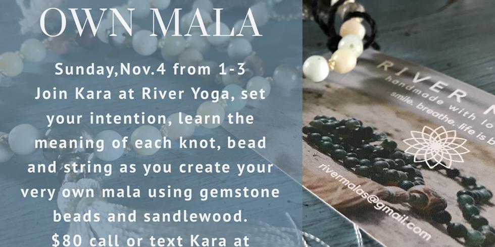 Make Your Own Mala - $80.00