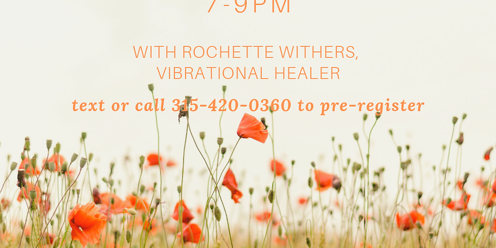 HEAL YOURSELF workshop with Rochette Withers