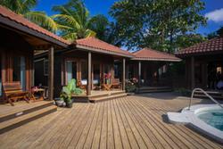 Luxury Cabanas with Hot Tub