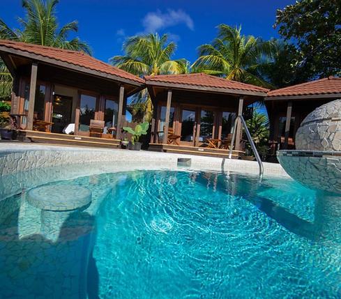 Luxury Cabana with Hot Tub San Pedro Belize