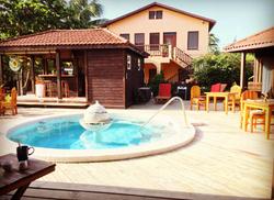 Luxury Cabanas with Pool
