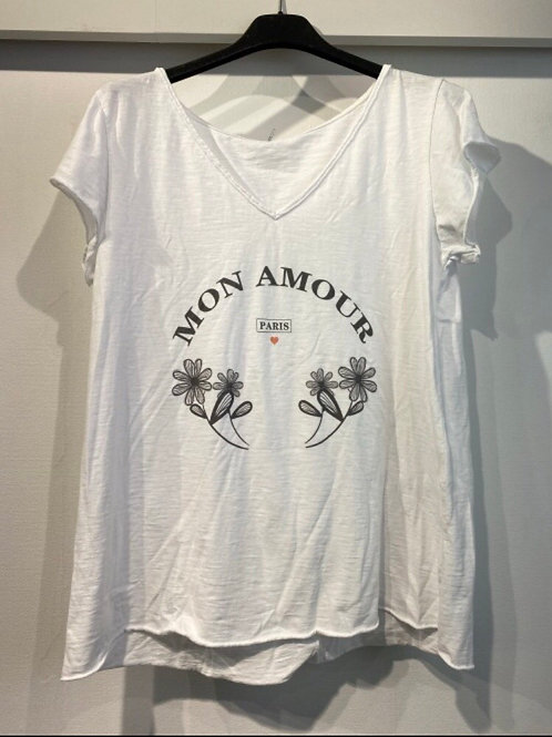 Tee-shirt Mon amour