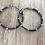 Thumbnail: Boucles d'oreilles Nessy gris