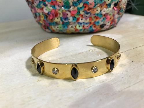 Bracelet jonc Anastasia