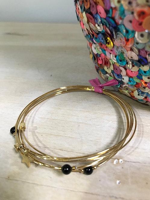 Bracelet Étoile dorée