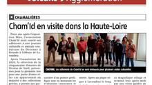 Cham'Id en visite dans la Haute-Loire