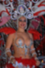 Glamour - the costumesof the Carnival Parade in Santa Cruz, Tenerife