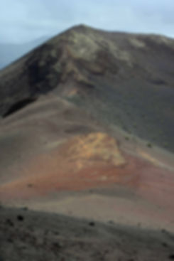 A Timanfaya volcano on Lanzarote