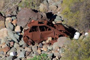 Car crash Gran Canaria
