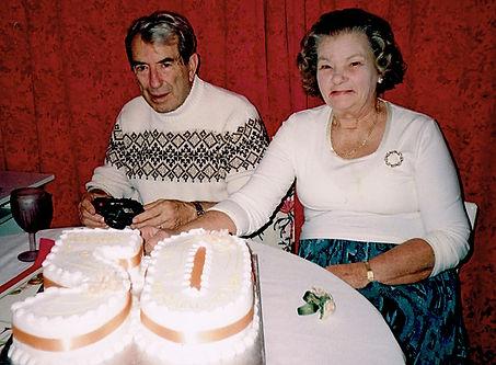 My parents' Golden wedding Anniversary