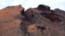 Primeval volcanic landscape Timanfaya