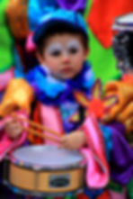 Child at Santa Cruz Carnival