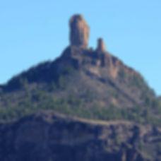Roque Nublo on Gran Canaria