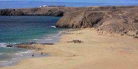 Papagayo beach