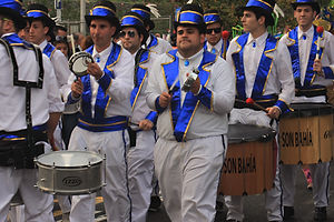 Marching bands in Santa Cruz