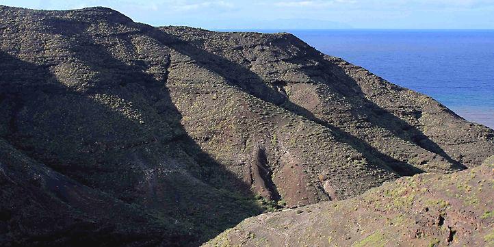 Gran Canaria mountains between La Aldea and Agaete