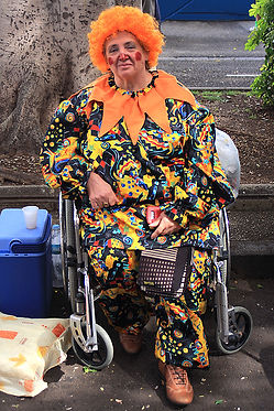 Disabled at Carnival Canary Islands