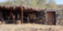 Guanche dwelling at Mundo Aborigen, Gran Canaria