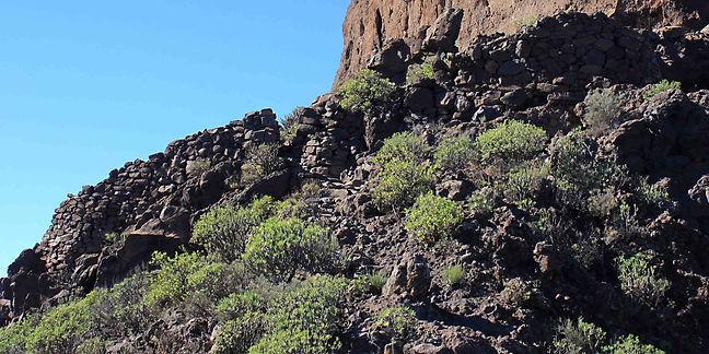 Roque Bentayga on Gran Canaria