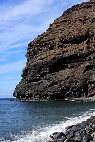 Gran Canaria West Coast cliff