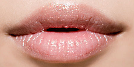 Seductive pink lips